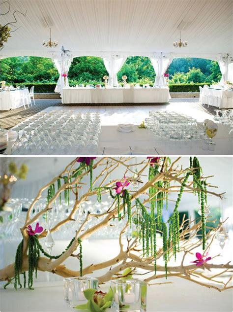 decoration arbre pour mariage le centre de table arbre paperblog