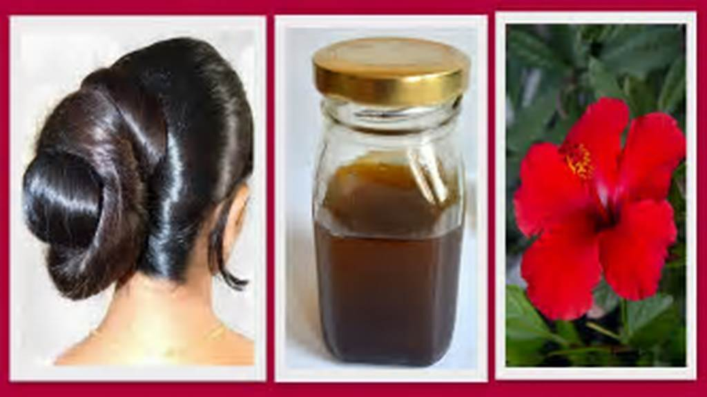 #Hibiscus #Homemade #Hair #Oil #For #Hair #Regrowth
