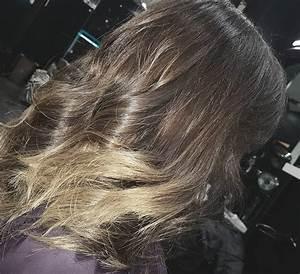 Ombré Hair Chatain : ombr hair blond pointe blonde coiffeur de stars paris ~ Dallasstarsshop.com Idées de Décoration