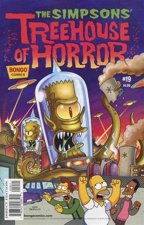Bart Simpson's Treehouse Of Horror 1 (bongo Comics