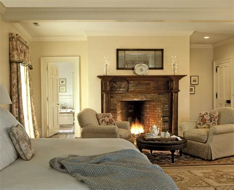 Master Bedroom With Fireplace by On The Drawing Board 5 Master Suites