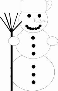 Snowman Black White Scalable Vector Graphics SVG Xmas ...