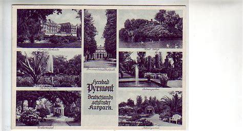 Kleine Bad Pyrmont by Alte Ansichtskarten Postkarten Antik Falkensee Pyrmont