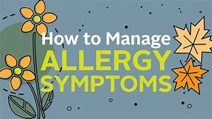 Infographic  How To Manage Allergy Symptoms