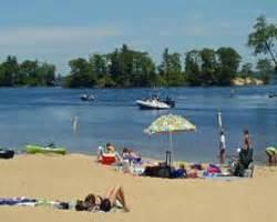 Hamlin Lake Boat Launch by Ludington Beaches Parks On The Michigan Coastline
