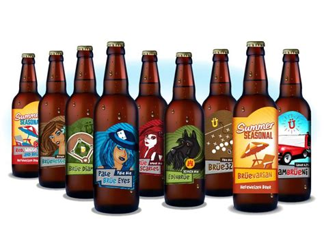 Nc Craft Beer Packaging And Bottle Labels // Brüeprint