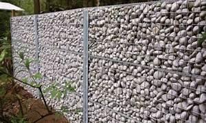 prix cloture gabion decorative mur soutenement With escalier exterieur metallique leroy merlin 15 mur en gabion