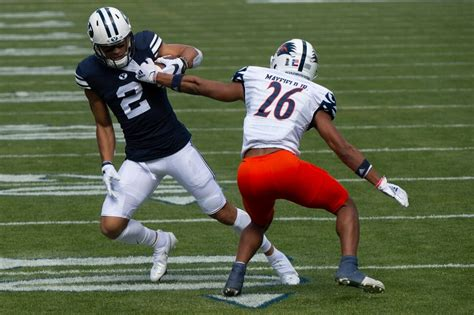 BYU has some nice offensive moments against UTSA, just not ...