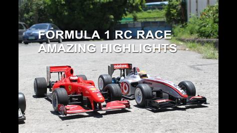 Awesome 17 F1 Rc Cars Racing Together