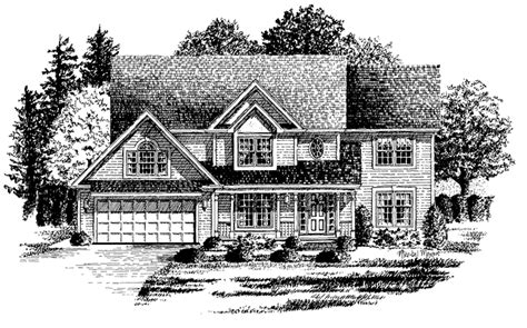 Country Style House Plan 4 Beds 2 5 Baths 2500 Sq/Ft