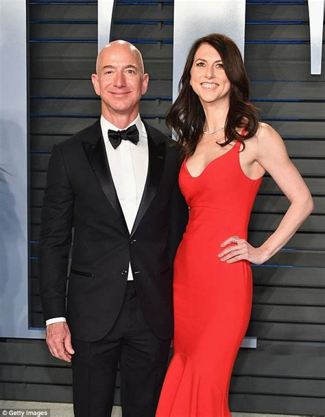 Amazon's Jeff Bezos joins stunning wife MacKenzie at ...