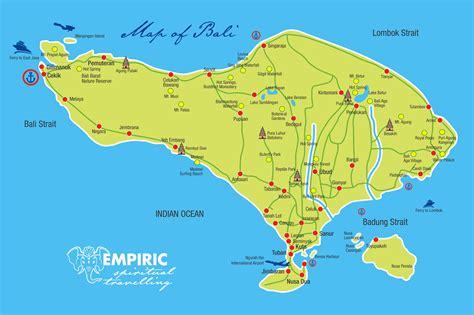 map  bali bali maps tourist map ubud bali