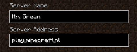 green minecraftnl server faction wars pc