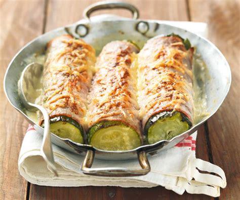 bfmtv cuisine courgettes gratinées au jambon un plat succulent