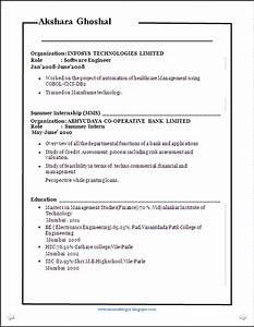 Resume blog co better resume sample mba fin be for Better resume format