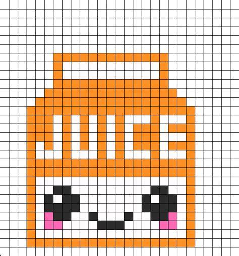 Easy Excel Pixel Art Food