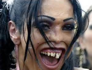 People Very Ugly Woman