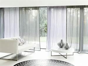 Rideaux Salon Pas Cher : rideaux modernes salon donnez un c t cocon la pi ce ~ Teatrodelosmanantiales.com Idées de Décoration
