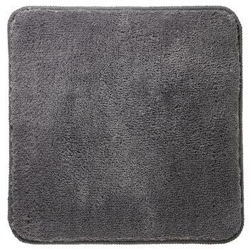 wc mat gamma gamma sealskin wc mat angora grijs 60x60 cm kopen