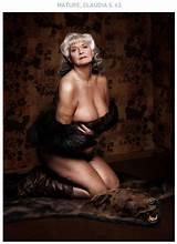 Mature women magazine models