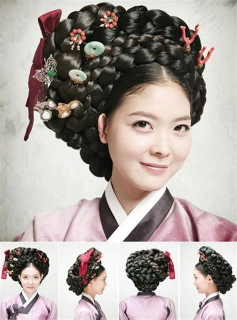 traditional hairstyles  modern beauties gisaeng style