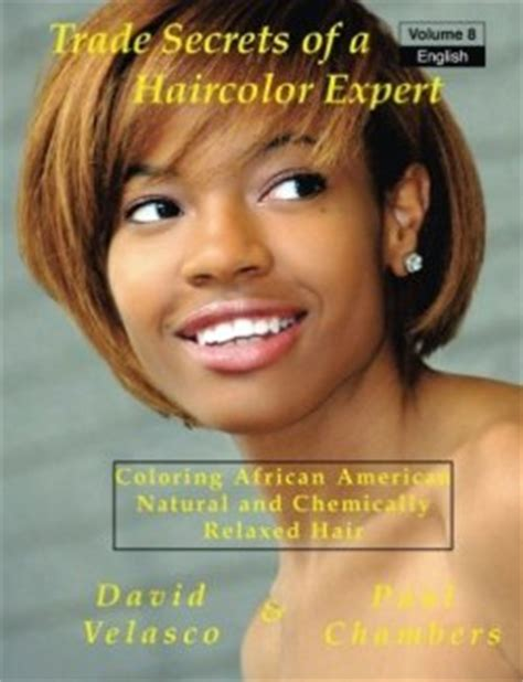 Coloring Relaxed Hair by Books About Hair Coloring And Bleaching