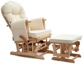 Best Rocker Glider For Nursery by Sereno Natural Wood Or White Nursing Glider Maternity