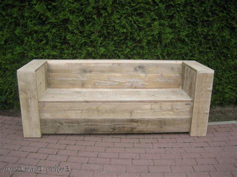 Rustikale Gartenbank Selber BauenGartenbank Holz Selber