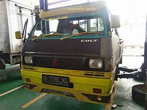 Repair Of The Brake System On A Vehicle L300 Mitsubishi Pick Up