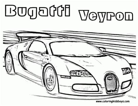 Join the amazing adventure with max the glow train, blazin' bill the monster truck, pete the truck and toy race cars! Bugatti Veyron Race Car Coloring Pages taken from Coloring Pages ... | Printables | Pinterest ...
