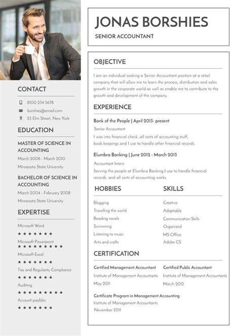 banking resume templates  word  premium
