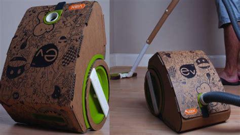 cardboard vacuum cleaner  recycled packaging