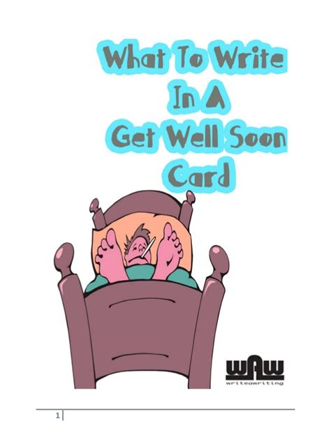 May 16, 2016 · get well soon! What to write in a get well soon card