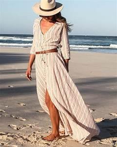 Tenue De Plage Chic : robe de plage maxi maxi robe robe de plage longue femme ~ Nature-et-papiers.com Idées de Décoration