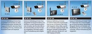 Kamera Zur überwachung : funk kamera set df250a zur drahtlosen ~ Michelbontemps.com Haus und Dekorationen