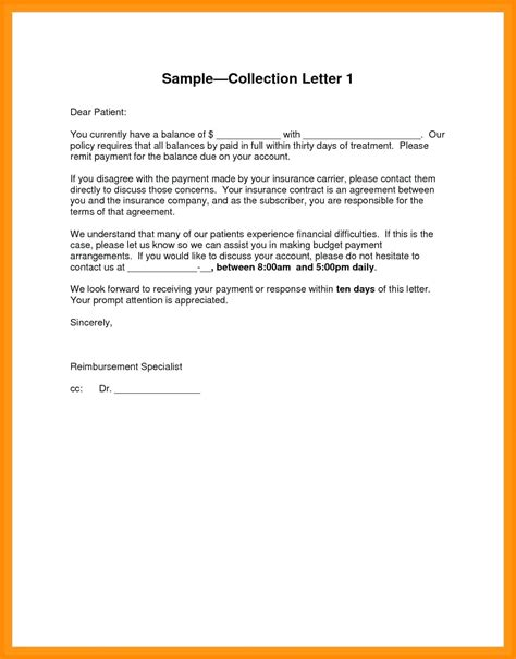 collection dispute letter template collection agency dispute letter template sle