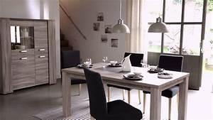 sejour nature decor chene nouvelle collection but youtube With meuble de salle a manger avec salle a manger stone chez but