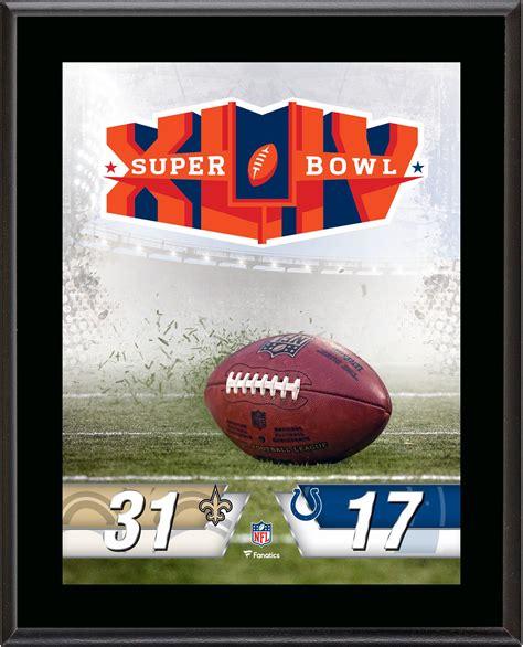 New Orleans Saints Vs Indianapolis Colts Super Bowl Xliv