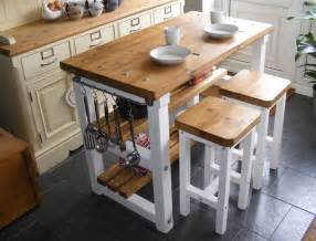 kitchen islands with breakfast bars rustic kitchen island breakfast bar work bench butchers block with 2 stools ebay