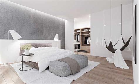Schöne Schlafzimmer Ideen Grau Und Weiß Und Braun In Der