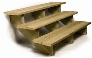 Construire Un Escalier Extérieur En Bois by Escalier D Exterieur En Bois Deck Linea Amenabois