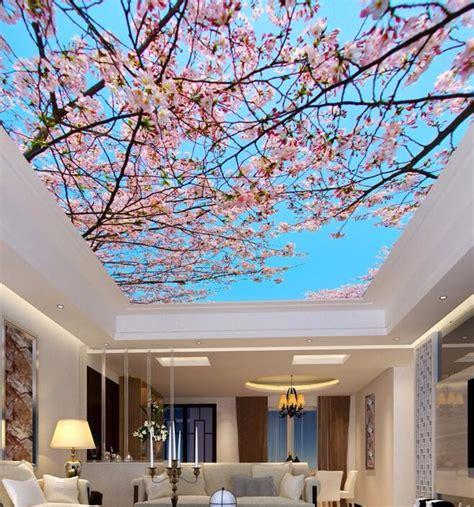 decorative wallpaper  restaurant garden salon theme