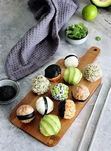 vegan onigiri japanese stuffed rice balls recipe
