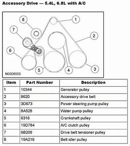 30 Ford V10 Serpentine Belt Diagram