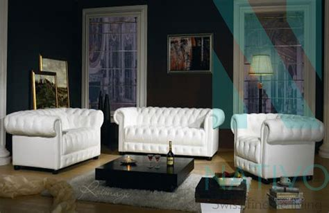 canapes chesterfield canapé design chesterfield 3 2 1 2 nativo magasin de