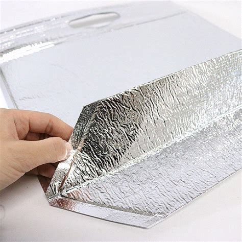 insulated easy zip lock resealable aluminum sandwich bag