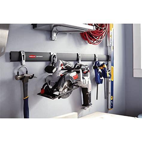 Rubbermaid Fasttrack Garage Storage System Tool Hanging
