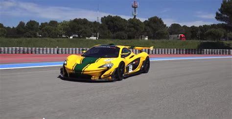 Mclaren P1 Top Speed Mph by Mclaren P1 Gtr Hits 202 Mph News Top Speed