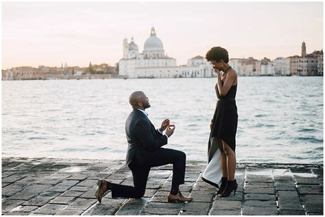 romantic proposal  venice serena genovese