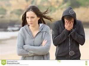 Teenager couple break up stock photo. Image of cheated ...